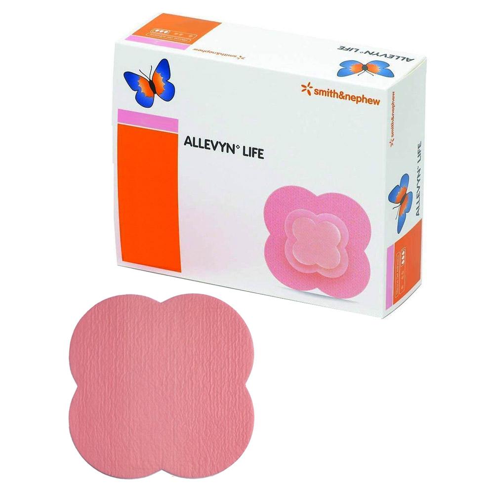 Allevyn Life Non-Bordered Foam Dressing, 5.5 cm x 5.5 cm 5466801747
