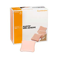 """Smith & Nephew Allevyn™ Non-Adhesive Hydrocellular Foam Dressing, 4"""" x 4""""  5466927637"""