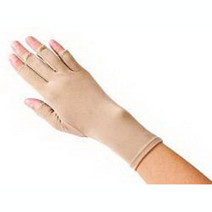 "Sammons Preston Hatch® Compression Edema Glove Left Open Finger Medium, 9"" L, Tan, Reusable, Latex-free 54A571205"