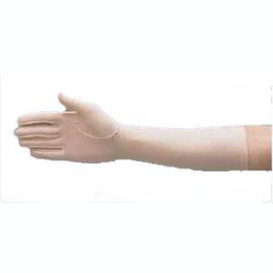 "Sammons Preston Hatch® Compression Edema Glove Left Full Finger Medium, 9"" Over the Wrist Length, Tan, Reusable, Latex-free 54A571225"