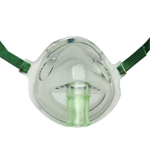 CareFusion AirLife™ Aerosol Adult Mask with Elastic Band Under-the-Chin Style, Disposable 55001206