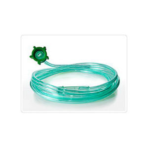 AirLife Oxygen Supply Tubing with Crush-Resistant Lumen 14 ft., Green 55001303GRN