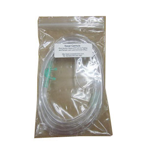 CareFusion AirLife™ Adult Over the Ear Nasal Cannula, Latex-Free, Curved Flared Tip, Crush-Resistant, Disposable, 21 ft  55001322
