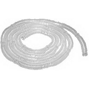 """CareFusion AirLife™ Disposable Corrugated Tubing, 6 ft L, Clear, Segmented Every 6"""", Composed of Polyethylene/ethyl Vinyl Acetate (EVA) Plastic 55001410"""
