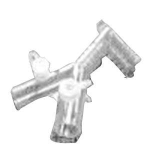 CareFusion AirLife™ Patient Wye and Elbow Adapter, Latex-Free, 22mm O.D. Arms and Elbow 55001831