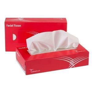 """Cardinal Health Premium 2-Ply Facial Tissues, 8"""" x 8.3"""" 5510325100U"""