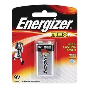 Energizer Max 9V Alkaline Battery, 1 Count 551140466