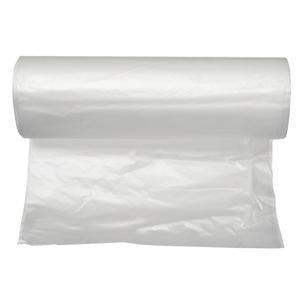 """Cardinal Health HDPE Can Liners, Clear, 24"""" x 32"""", 7-10 Mic, Roll of 50 552433R8CLR"""