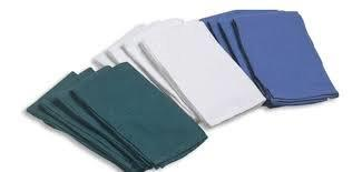 """Cardinal Health Cotton Surgical Towel, Sterile, White, 17"""" x 24"""" 5528300004"""