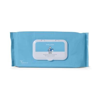 Baby Wipes, Sensitive, Fragrance Free 552BWPU42