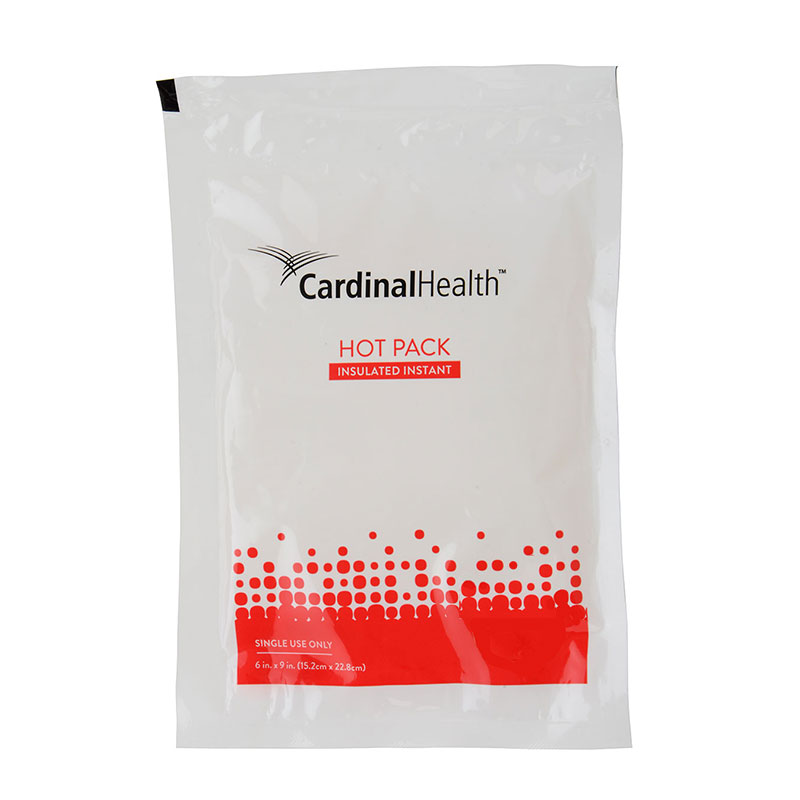 """Cardinal Health™ Jack Frost™ Insulated Instant Hot Pack, 6"""" x 8-3/4"""" 5530104"""