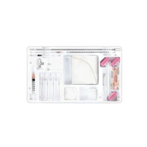 """CareFusion Adult Lumbar Puncture Tray with Clear Hub Spinal Needle 22G x 3-1/2"""" 554306C"""