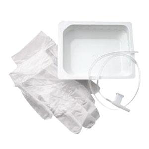 CareFusion Rigid Basin Kit Dry with Tri-Flo® 12Fr Suction Catheter 554412
