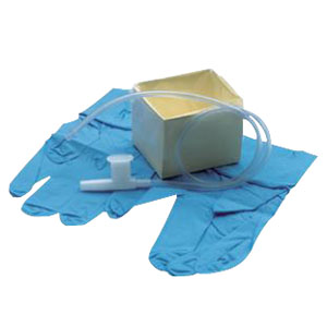 CareFusion Cath-N-Glove® Wallet Suction Catheter Kit 8Fr Tri-Flo® Catheter 554867T