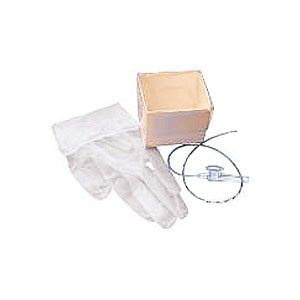 CareFusion AirLife™ Tri-Flo® Cath-N-Glove® Economy Suction Kits 10Fr with 2 Powder-Free Vinyl Gloves 554895T