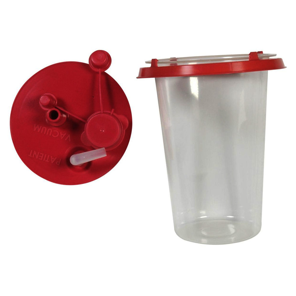 Suction Canister Liner with Lid, 1000 cc 5565651510