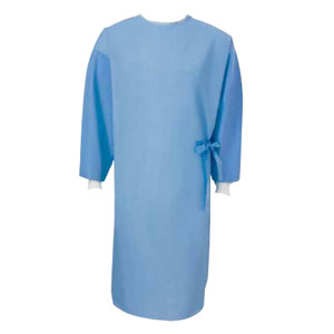 Cardinal Health™ Astound® Fabric-Reinforced Surgical Gown, Large, Blue 559511