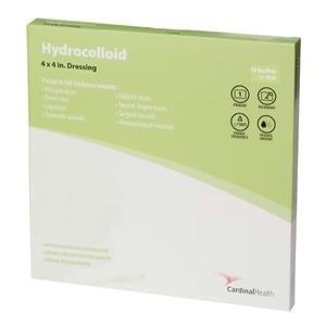 "Cardinal Health Hydrocolloid Dressing, 4"""" x 4"""" 55HC44"