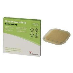 "Cardinal Health Thin Hydrocolloid Dressing, 4"""" x 4"""" 55HCT44"