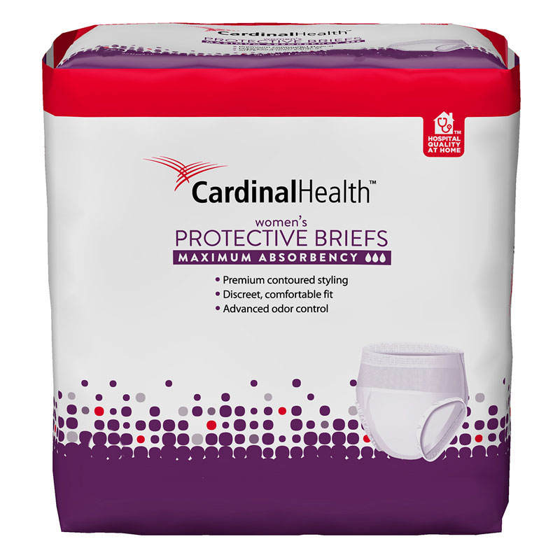 """Cardinal Health™ Maximum Absorbency FlexRight Protective Underwear for Women, Large/XL, 45"""" to 58"""", 130 to 230 lbs 55UWFBLXL"""