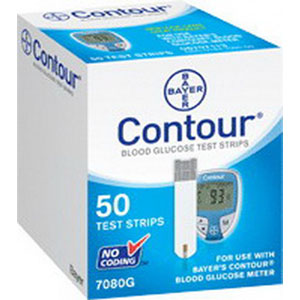 Bayer Contour® Microfill Blood Glucose Test Strip 567080