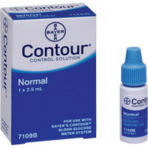 Bayer Contour® Normal Level Control Solution 2-1/2mL 567109