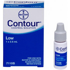 Bayer Contour® Low Level Control Solution 2-1/2mL 567110