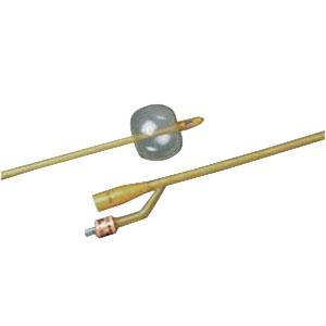 Bardia® Silcone-Elastomer Coated 2-Way Foley Catheter, Hydrophobic, 20Fr, 5cc Balloon Capacity 57123520A