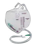 Bard I.C. Infection Control Urine Drainage Bag with Anti-Reflux Chamber, 2000mL 57154002