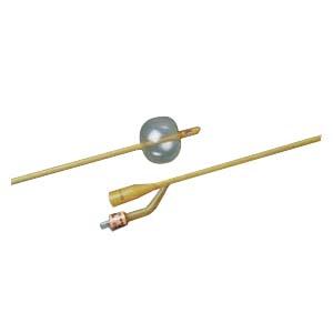Bard 2-Way Foley Catheter, Silicone-Elastomer Coated, 22Fr, 5cc Balloon Capacity 57265722