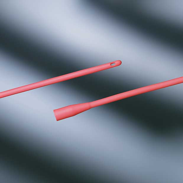 """Bard Red Rubber Catheter, All-Purpose, 10Fr, 16"""" 57277710"""