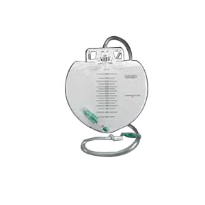 Bard Closed System Urinary Drainage Bag, Swivel Hanger with Flexible Hook, 2000mL 57802001