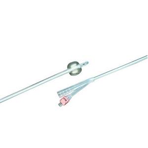 Bard 100% Silicone 2-Way Foley Catheter, Round, 16Fr, 5cc Balloon Capacity 57806516