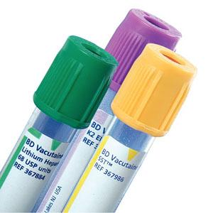 BD Vacutainer® Plus Plastic Whole Blood Tube 3mL, 13mm x 75mm 58367856
