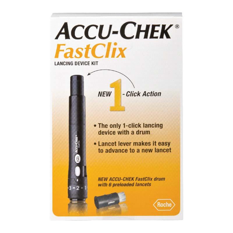 ACCU-CHEK® FastClix Lancing Device 5905864666160