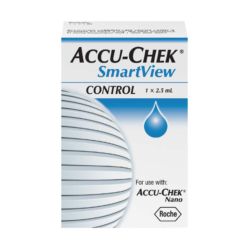 Accu-Chek® SmartView Glucose Control Solution, 1 Level 5906334032001