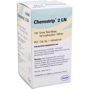 Chemstrip® 2 LN Urine Reagent Test Strip, Leukocytes, Nitrite 59417152