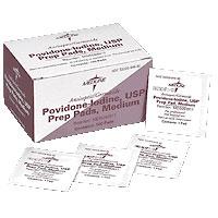 Povidone Iodine 10% USP, Prep Pad (100 count) 60093917