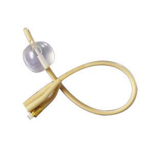 2-Way Silicone-Elastomer Coated Foley Catheter 16 Fr 30 cc 6011776