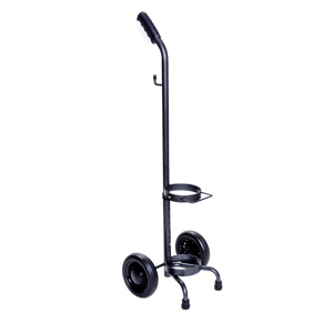 """Medline E Cylinder Rolling Oxygen Cart 12"""" W, 36 to 42"""" Handle Height 60HCS53006"""