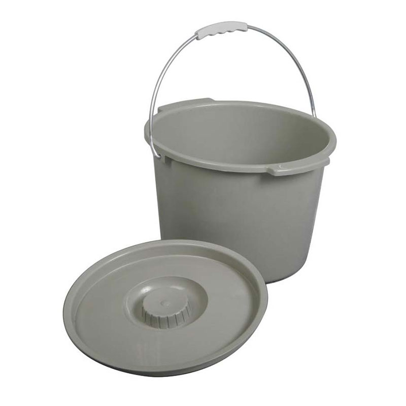 Commode Bucket With Lid & Handle 60MDS80306B
