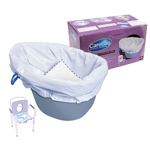 Commode Liner with Absorbent Pad 60MDS89664LI