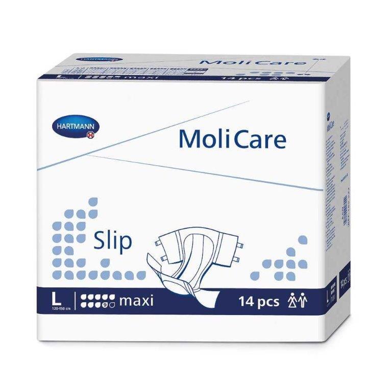 "MoliCare Slip Maxi Brief, Large 47"" - 59"" 60PHT165533"