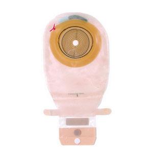 Assura 1-Piece Wide Outlet Drainable Pouch Cut-to-Fit Non-Convex, Transparent 6215860