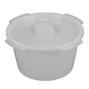 Briggs Pail with Lid and Side Handles, 7 qt 641209