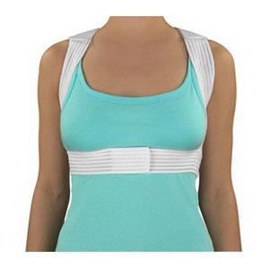 "Posture Corrector, Ml 38-40"",White, Velcro 646224ML"