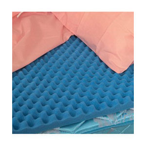 "DMI Hospital Bed Size Convoluted Bed Pad 33"" x 72"" x 2"" 648002"