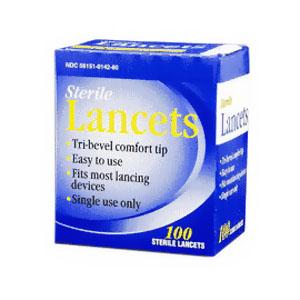 Nipro Diagnostics Lancet 28G, Sterile 67743500