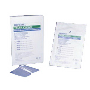 """Kendall Telfa™ Pre-Cut Clear Wound Contact Layer Dressing, Sterile, Non-Adherent 4"""" x 5"""" Square 681111"""