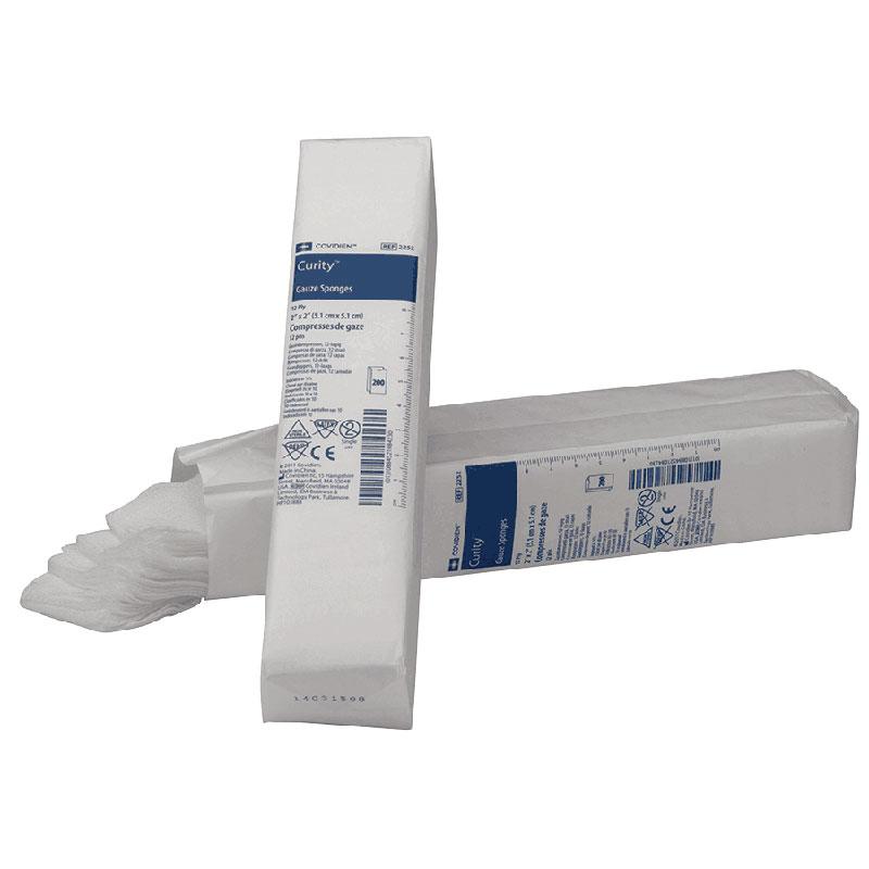 "Curity™ Non-Sterile Gauze Sponge, 8-Ply, 4"" x 4"" 682556"